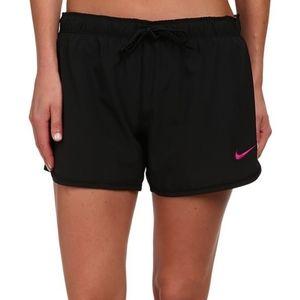 Nike Black Logo Phantom Dual 2-in-1 Spandex Shorts